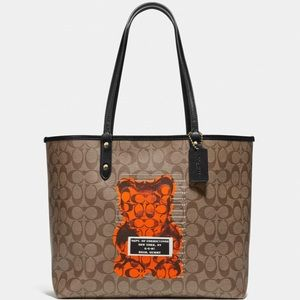 Coach Monogram CC Vandal Gummy Tote Neverfull Bag